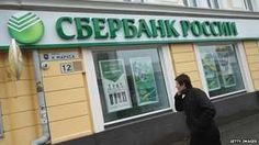 Sberbank branch in Crimea - file pic