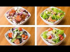 (24) 5 Healthy Salad Recipes For Weight Loss | Easy Salad Recipes - YouTube