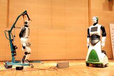 Robots humanoides, #REEM C y Laia, de la empresa catalana PAL Robotics #robotica #Tecnonauta