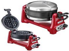 modern kitchenaid waffle baker