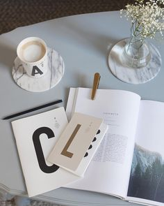 I like to start my mornings with a coffee while planning what I will do next and these @typehype_berlin designs are perfect for my morning ritual #typehypestories