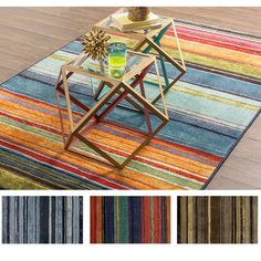 Mohawk Home New Wave Rainbow Multi (1'8 x 2'10) | Overstock.com Shopping - The Best Deals on Accent Rugs