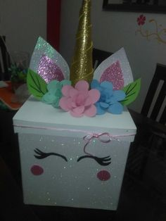 Party Ideas Surprise Valentines Day 45 Ideas For 2019 Party Ideas. Party Ideas Surprise Valentines Day 45 Ideas For 2019 Party Ideas Surprise Valentine Valentine Boxes For School, Valentines Day Party, Valentines For Kids, Valentine Day Crafts, Valentine Box Unicorn, Diy Valentine's Box, Unicorn Themed Birthday Party, Birthday Box, Unicorn Crafts
