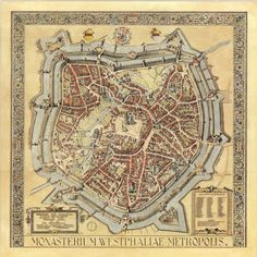 Münster Map 1636