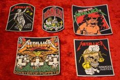 Metallica patches