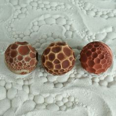 Small Textured Cement Sand Sphere for Sand Play | Bubbles Design