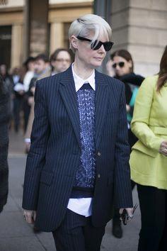 Fotos de street style en Paris Fashion Week: Kate Lamphear