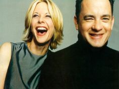 Cute Movie Buddies - Tom Hanks And Meg Ryan