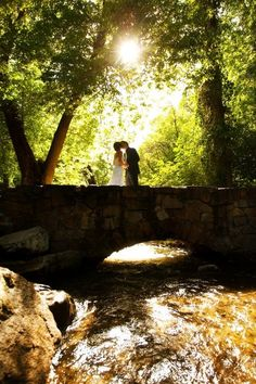 fairytale picture, at millcreek inn our wedding venue:)