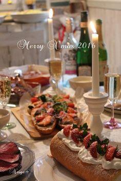 クリスマスホームパーティのおすすめメニューは。。。