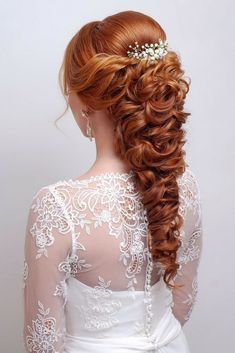 Amazing Wedding Hair Styles Collections. Still Looking For The Wonderful Look Of Your Hair For Your Very Special Moment? Get Inspired By This Beautiful Styles That Will Leave All Of The Bride Tressed To Impress !