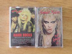 Cassette Tape Lot Hanoi Rocks Two Steps Michael Monroe Not Fakin' It Glam   eBay