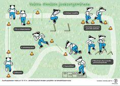 Juoksu. Juoksurytmikkarata. http://www.yleisurheilu.fi/lapset-ja-nuoret/seura/yleisurheilukoulu/voitto-onninen