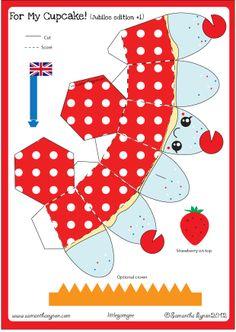 Samantha Eynon - Cupcake Paper Toy Downloads
