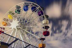 Ferris wheel #noria #tibidabo #nonfilter #longexposure #Loves_Catalunya #happy #colors #turisme_Barcelona #loves_utopia #highlights #Barcelona #night #nit #noche
