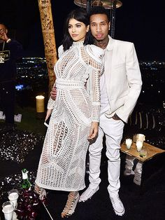 Star Tracks: Monday, October 26, 2015 | BALMAIN ARMY | Kylie Jenner and boyfriend Tyga brighten up Friday night's star-studded Balmain party in L.A.
