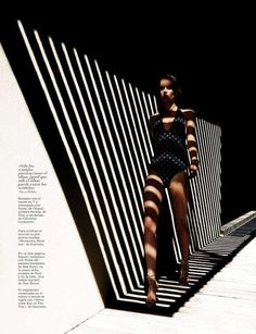 Architectural Swimsuit Editorials : Marie Claire Spain Sensorium