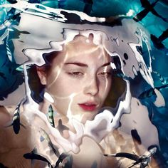 Photography studio Staudinger-Franke reveals water barriers with submerged portraiture