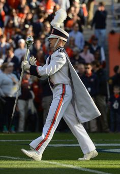 AUMB Drum Major War Eagle! ~ Check this out too RollTideWarEagle.com ~ sports stories that inform and entertain, plus #collegefootball rules tutorial. Check out our blog and let us know what you think. #WarEagle #Auburn