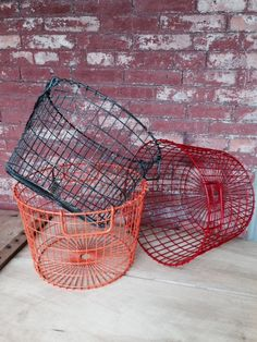 Wire Potato Baskets from Common Deer