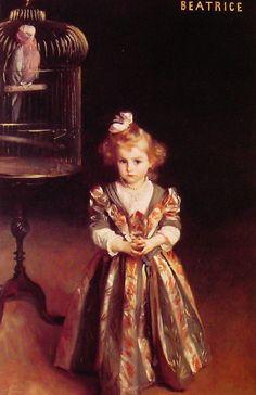 Beatrice Goelet by John Singer Sargent