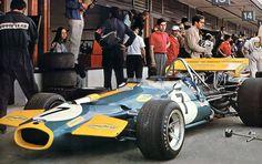 Jack Brabham's Brabham BT33 - Cosworth V8 (Spain 1970)