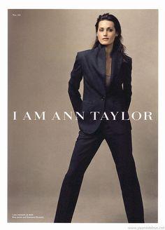 Yasmin Le Bon by Annie Leibovitz - Ann Taylor F/W 2004