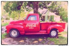 Coca Cola Chevy Truck