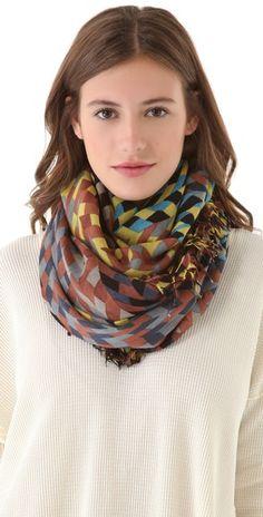 Theodora & Callum braid scarf