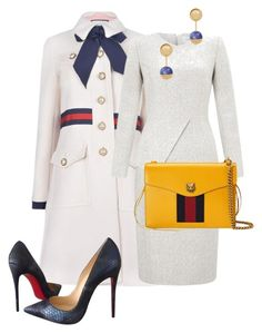 """Untitled #2"" by sh-66-sh on Polyvore featuring Gucci, Christian Louboutin and Tory Burch"