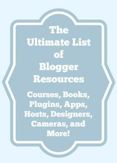 2014 Blogger Resources - Craft Gossip