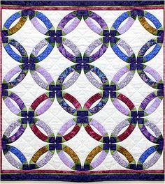 Quilt Inspiration: Quilt Inspiration: Wedding Ring Quilts ! (part ... : double wedding quilt pattern - Adamdwight.com