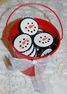 Peppermint Patty snowmen covers