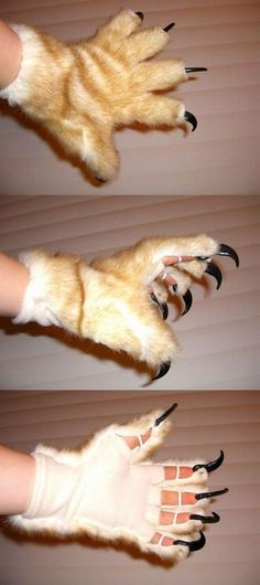 I really want these. Claw Gloves