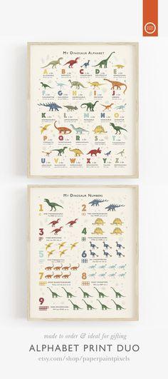 dinosaur nursery 52 Trendy ideas for diy kids room dinosaur Dinosaur Kids Room, Dinosaur Room Decor, Dinosaur Alphabet, Dinosaur Bedroom, Dinosaur Gifts, Alphabet Print, Dinosaur Dinosaur, Dinosaur Wall Decals, Diy Kids Room