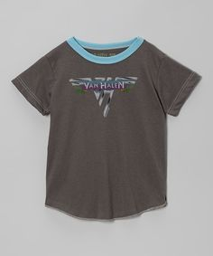 Take a look at this Charcoal Gray 'Van Halen' Tee - Infant, Toddler & Kids on zulily today!