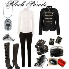 MyChemicalRomance-cool outfit, but I'd choose different boots
