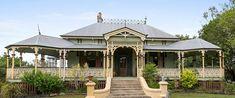 Property Report for 6 Watson Street, East Ipswich QLD 4305 Ipswich Qld, Queenslander House, Homestead House, Australian Homes, Australian Architecture, Classic House, Historic Homes, Victorian Homes, Architecture Details
