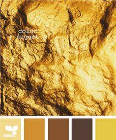 Gold Colour Palette