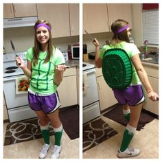 how to make a turtle dove costume