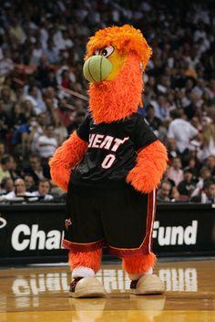 Burnie, Miami Heat. So many childhood memories with him
