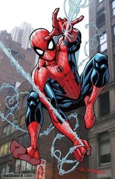 Spiderman by Todd Nauck