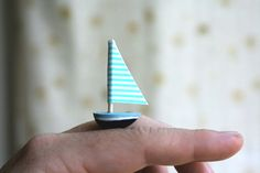 """I really really like small things, tiny things. This makes me think of """"Swallows and Amazons"""""""