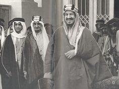 الملك عبد العزيز الملك فيصل رحمهما الله