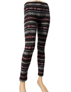 TheLees (RUK-017) Women Colorful Patern Tight Winter Leggings TheLees. $14.50