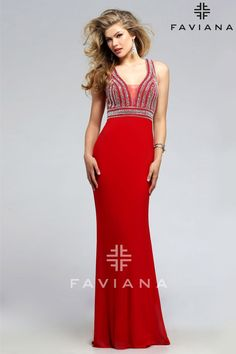 Prom Dress With Embroidered Bodice  482fa65387dc