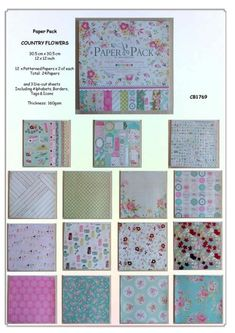 Scrapbook Paper Vintage Flowers available with 24 Sheets per Pack Wedding Stationary, Wedding Invitations, Vintage Flowers, Scrapbook Paper, South Africa, Quilts, Shop, Masquerade Wedding Invitations, Wedding Stationery