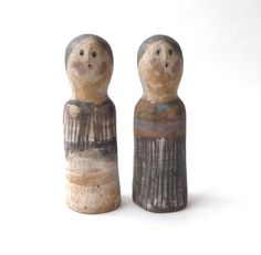 Greek Modernist Ceramic Figural Pair  ADC by mascarajones on Etsy,