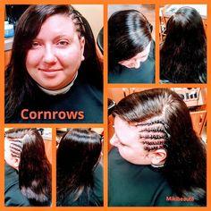 Side cornrows