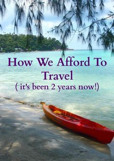 We've been travelling for over two years now with no full time income. How did we do it? Raise the money to travel and keep on travelling as a family? There's a little surprise at the end too! travel hacks, travel hacking
